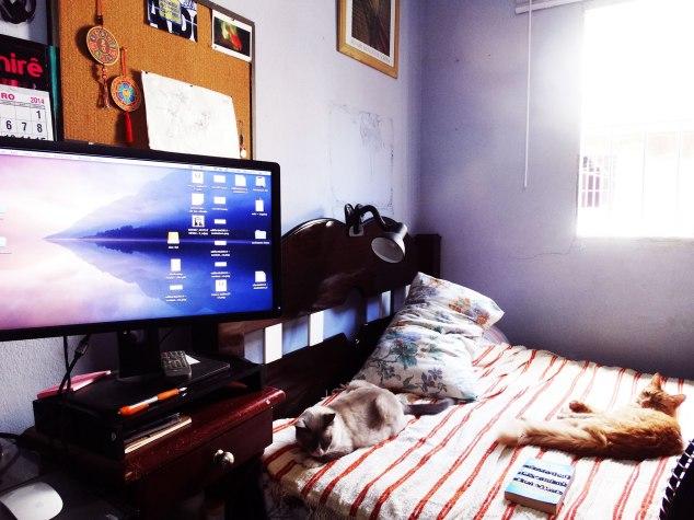Cantinho do quarto